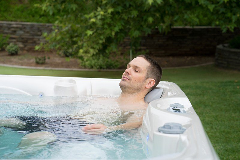 By improving circulation, hot tubs may be useful in helping injuries heal.
