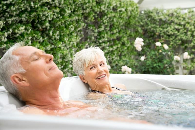 For people with sleep disorders, using a hot tub might improve the quality of sleep.